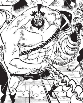 Tank Lepanto in the manga