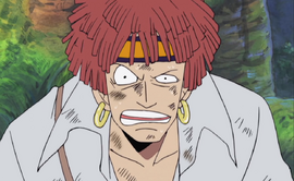 Zabo in the anime