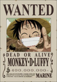 Monkey D. Luffy Avis de Recherche Post Marineford.png