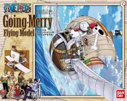 Caja modelo Going Merry volador