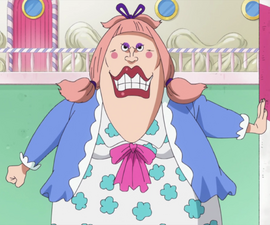 Charlotte Chiffon in the anime