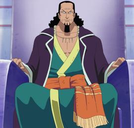 Nefertari Cobra before the timeskip in the anime