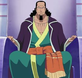 Nefertari Cobra antes do timeskip no anime