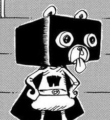 Hakowan after the timeskip in the manga