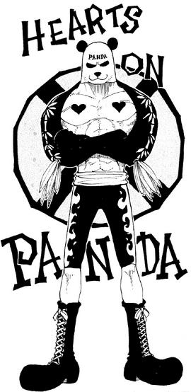 Pandaman in the manga