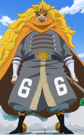 Vinsmoke Judge in the anime