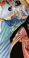 Kaku's San Faldo Disguise Manga Color Scheme
