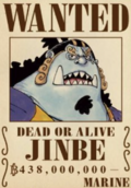 Jinbe's Current Wanted Poster.png