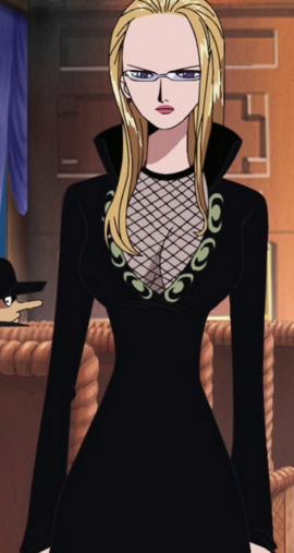 Kalifa in the anime