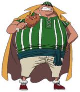 Lucky Roux Anime Concept Art