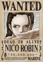 Nico Robin terza taglia