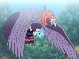 Fuza in the anime