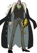 Crocodile Anime Concept Art