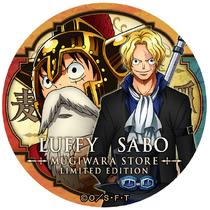 Yakara Can Badge Limited Edition Luffy & Sabo.png