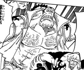 Blenheim in the manga