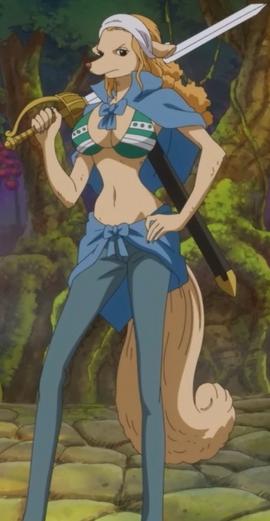Wanda in the anime