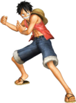 Luffy Pirate Warriors Pre