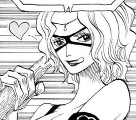 Gina in the manga