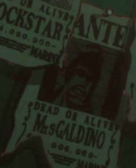 Galdino's Wanted Poster