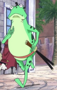 Kin'emon's Frog Disguise