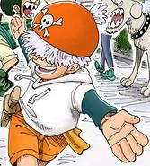 Ninjin in Jango's Dance Paradise in Colored Manga