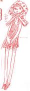 Charlotte Wafers Manga Concept Art