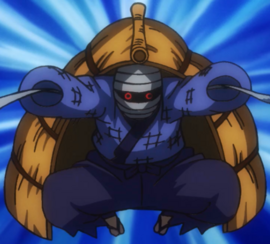 Yazaemon en el anime