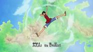 Luffy fall Kokoro no Chizu