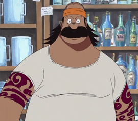 Terry in the anime