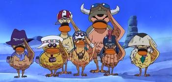 Escuadrón de Super Patos