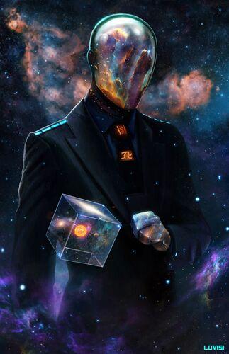 В форме вселенной