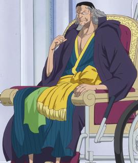 Nefertari Cobra after the timeskip in the anime
