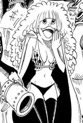 Daisy in the manga