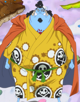 Jinbe in the anime
