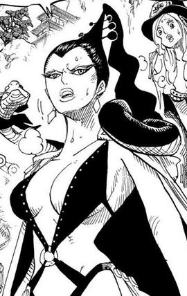 Kikyo in the manga