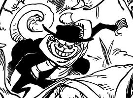 Keith in the manga