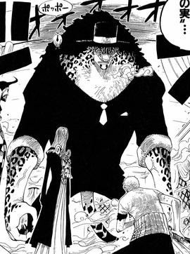 Neko Neko no Mi, modèle Léopard Forme Hybride Manga Infobox.png