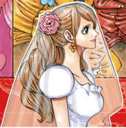 Coloração de Pudding Noiva Manga