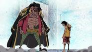 Luffys und Kurohiges zweite Begegnung
