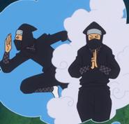 Ninja in Usopp's Imagination