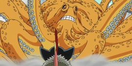 Surume en el anime
