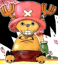 Tony Tony Chopper before the timeskip in the manga
