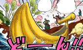 Zielona gwiazda: bananołódź