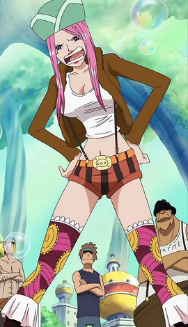 Jewelry Bonney before the timeskip in the anime