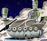 Statek kosmicznych piratów