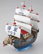 GSC Garps Warship maqueta armada
