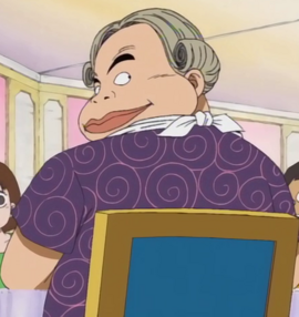 Motzel en el anime