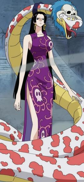 Боа Хэнкок в аниме