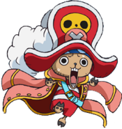Chopper Promotional Film Z Outfit