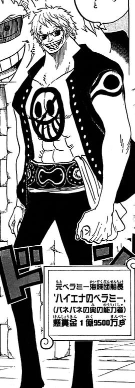Bellamy tras el salto temporal en el manga